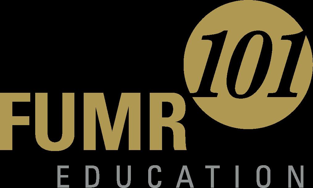 Fumr101 logo in gold