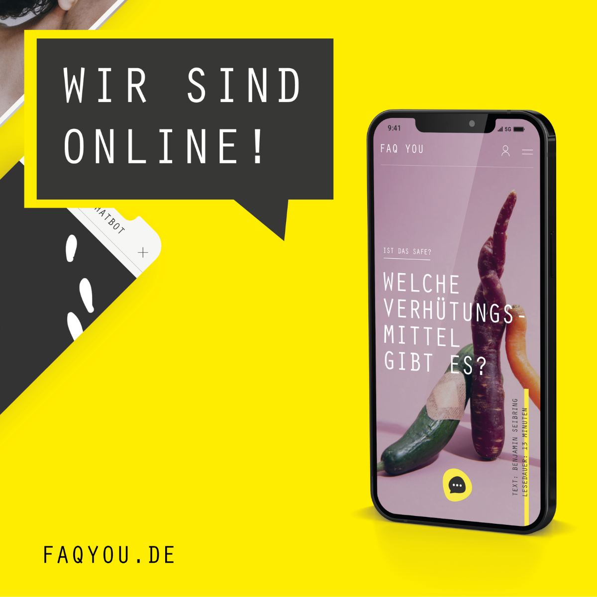 FAQ YOU Launch - Digital sexual education, for anyone, at any time