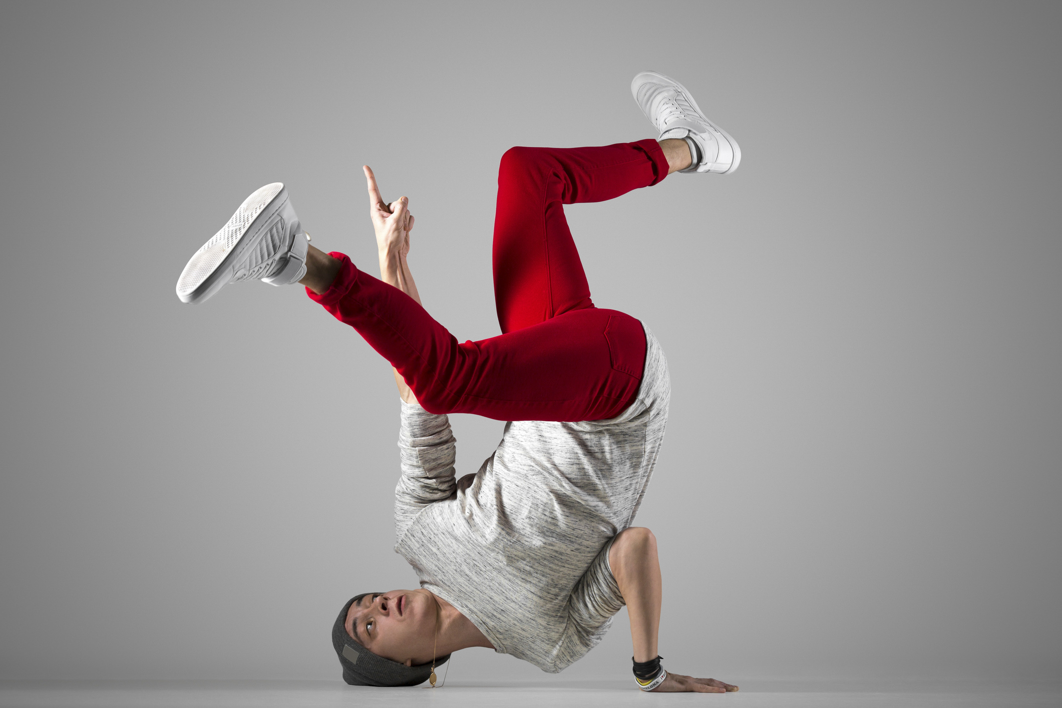 Photo of breakdancer