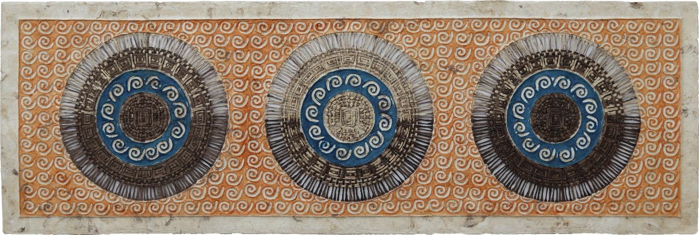 Arte de pared. Arte mexicano. Cuadrado.