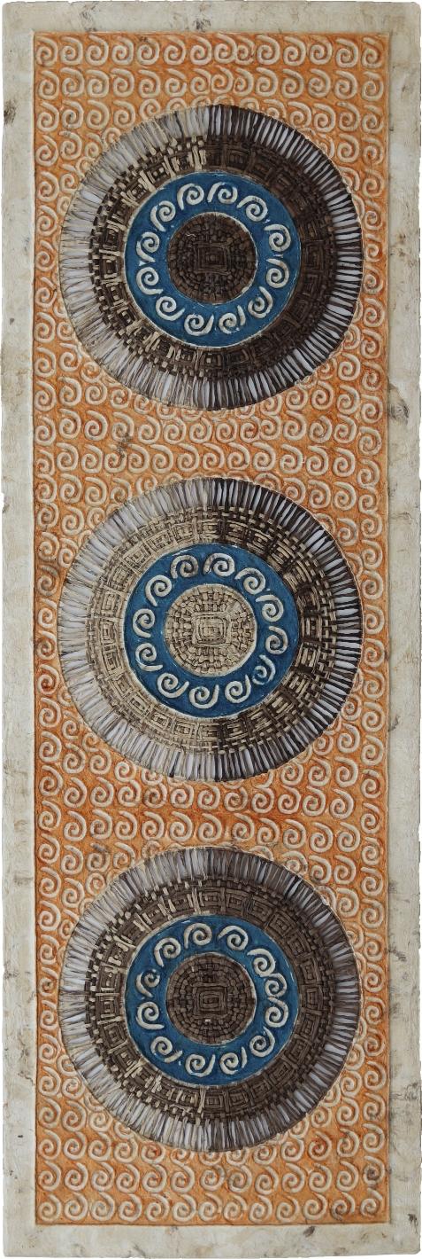 Arte de pared. Arte mexicano. Vertical.