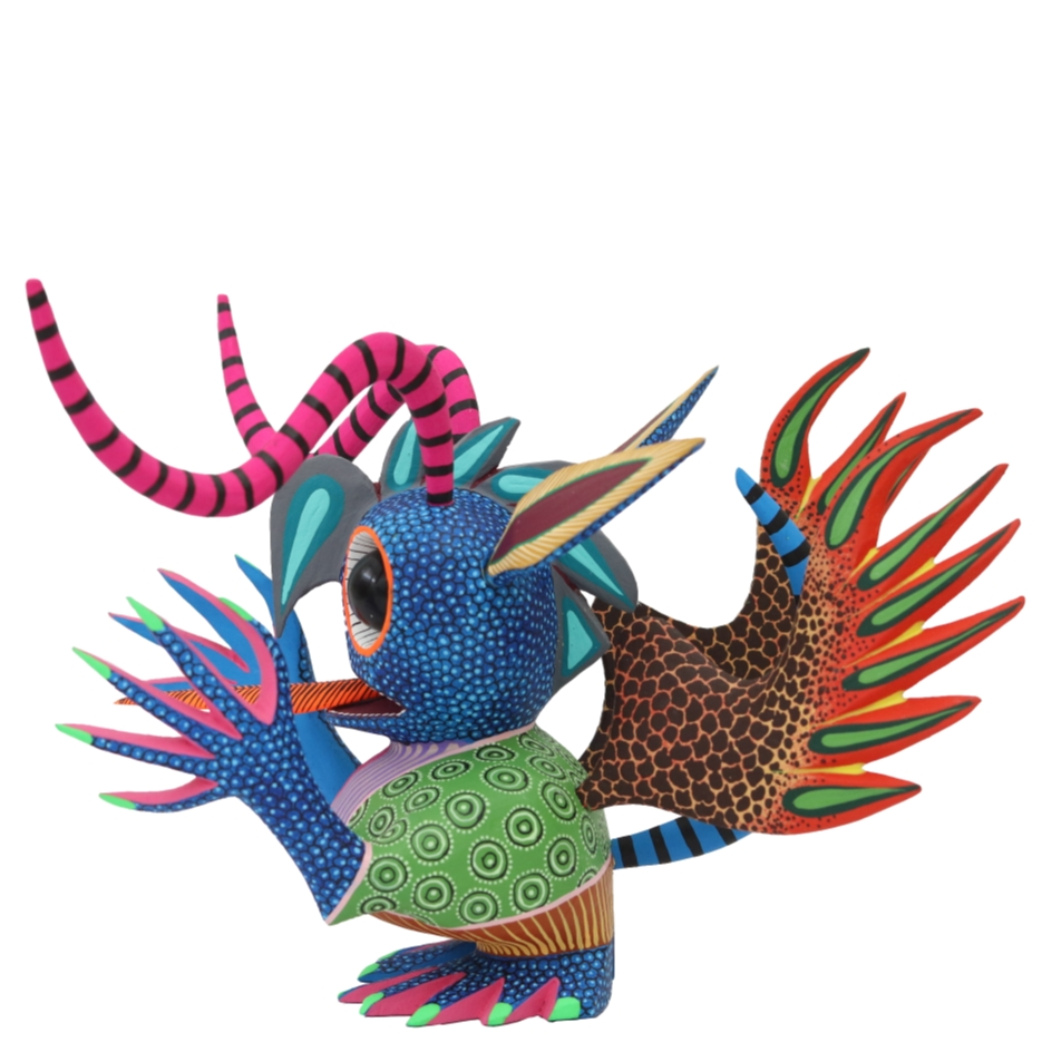 Alebrijes. Esculturas. Arte mexicano.