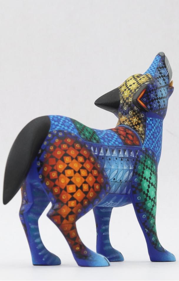 Alebrije. Escultura. Arte mexicano. Diferentes perspectivas.