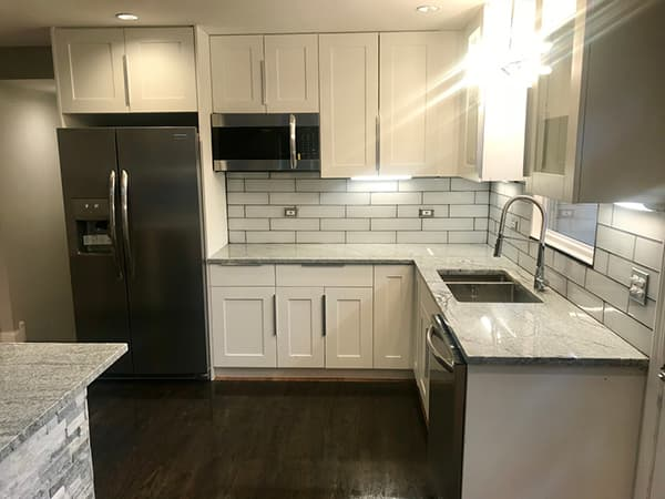 A kitchen after remodeling from Chicago, Illinois