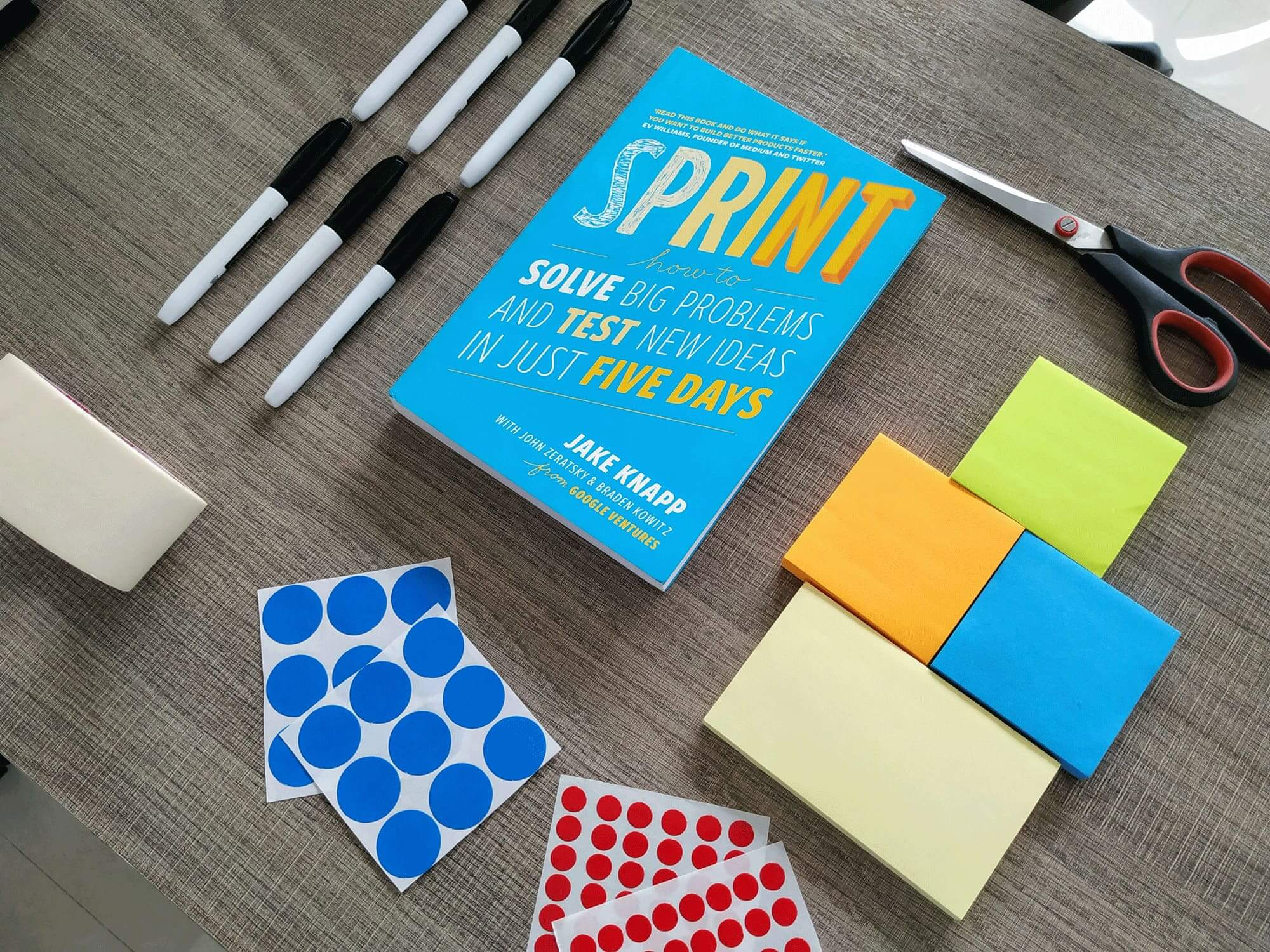 design sprint, core workshop and discovery workshop can help you enter new markets, design new products, develop new features, design new packaging and much more.