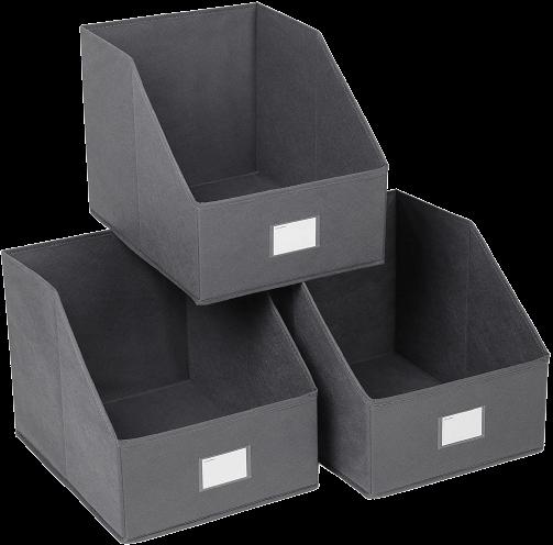 Storage Bins Foldable Trapezoid