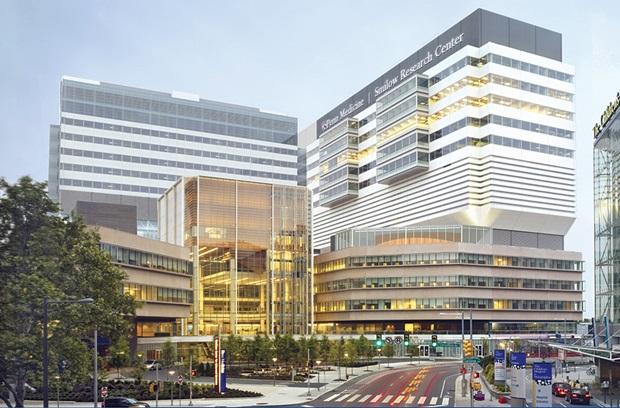 Downtown Philadelphia, where Perelman School of Medicine is located.