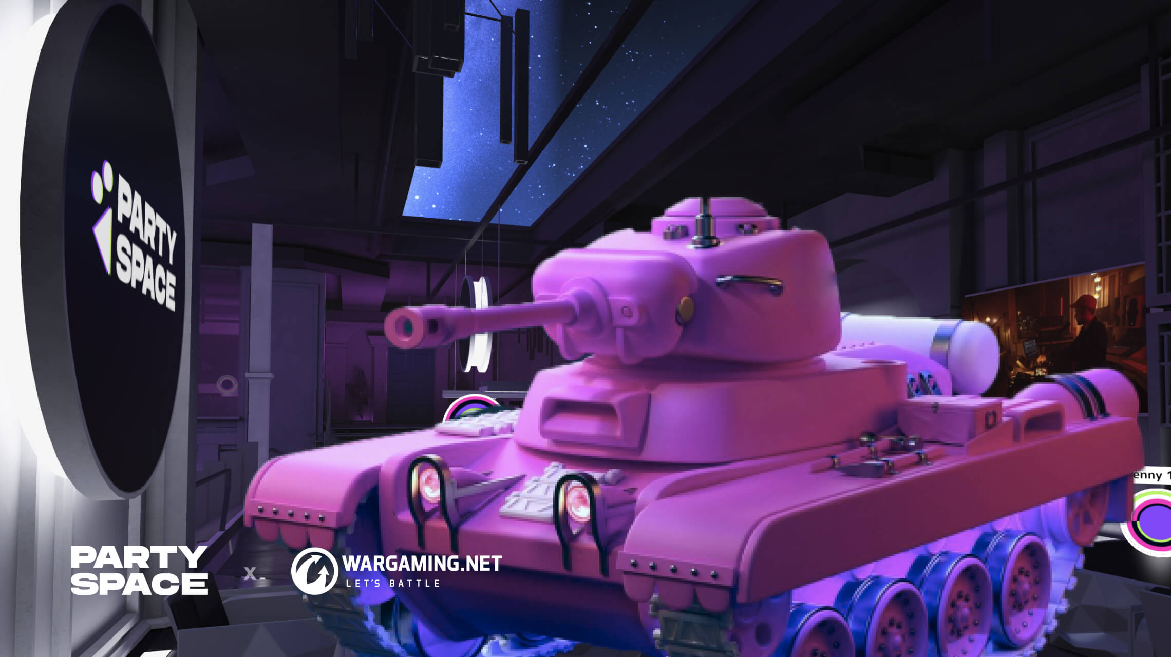 300 Wargaming Employees Celebrated the 7th Anniversary of their Studio's Office in a 3D Virtual Space