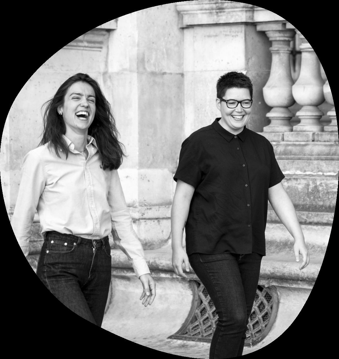 Photo des fondatrices de Holis, Eva et Marion