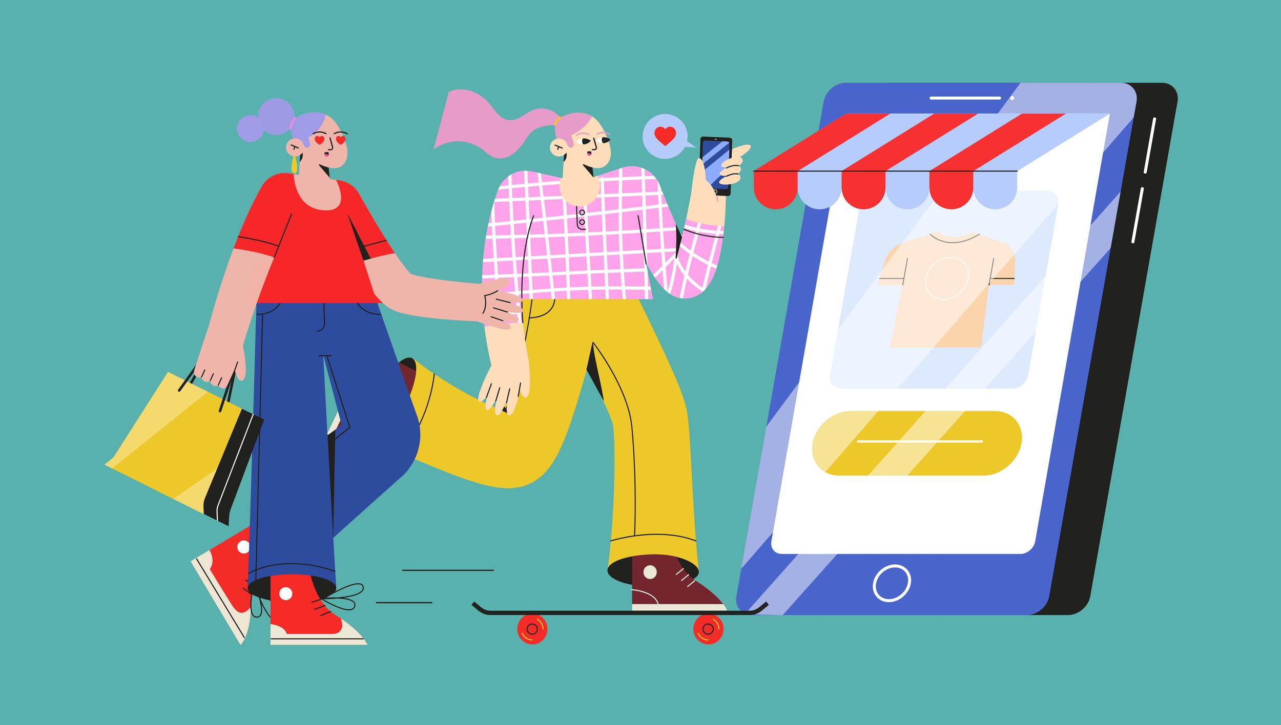 The future of shopping malls: Digitalization