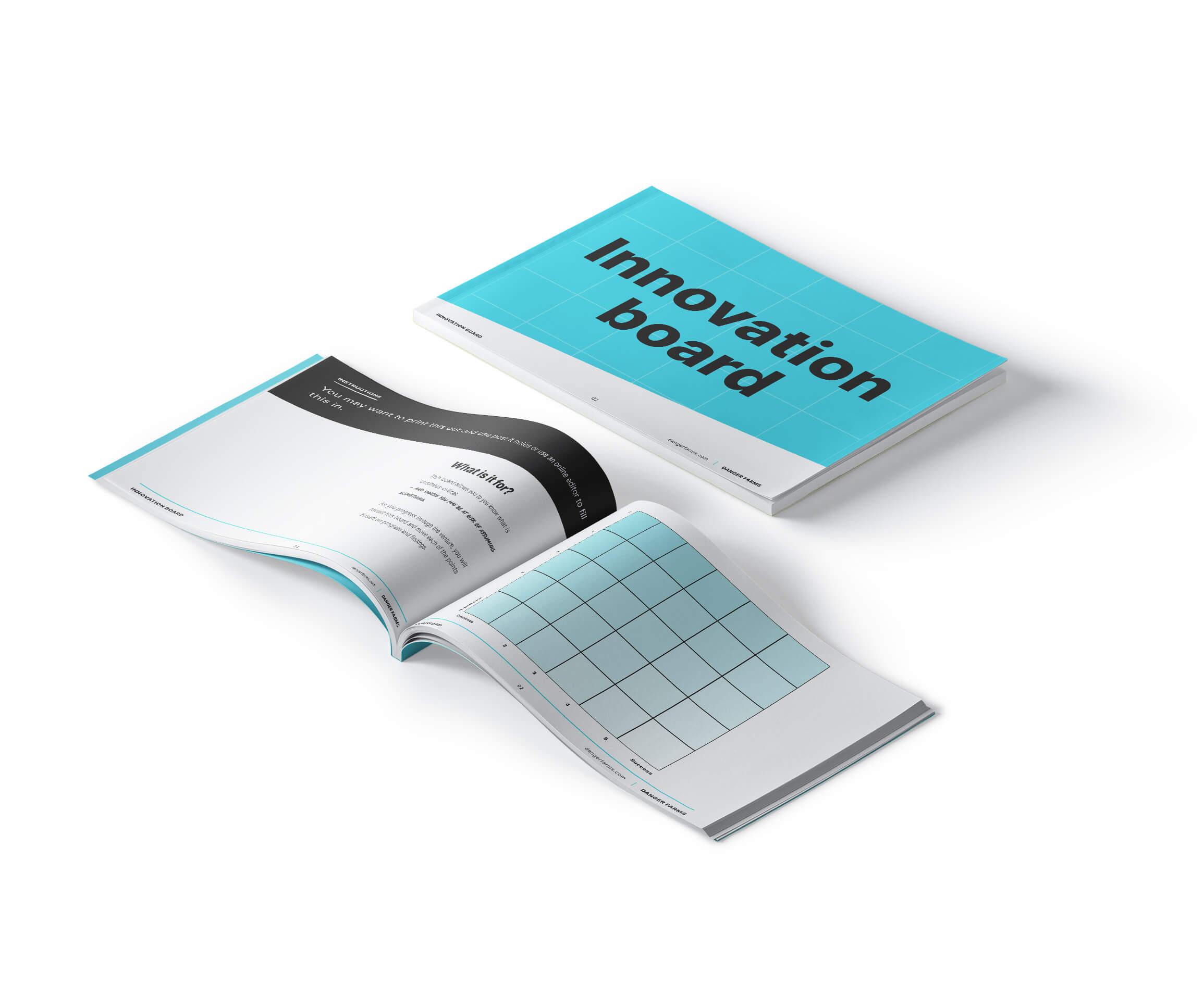 the venture framework innovation board template