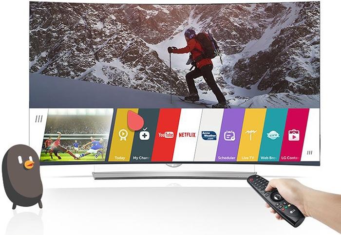 Cách xem phim nghe nhạc trong USB trên Smart tivi LG