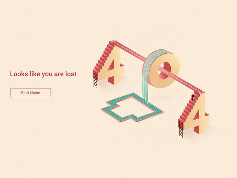 przyklady stron 404