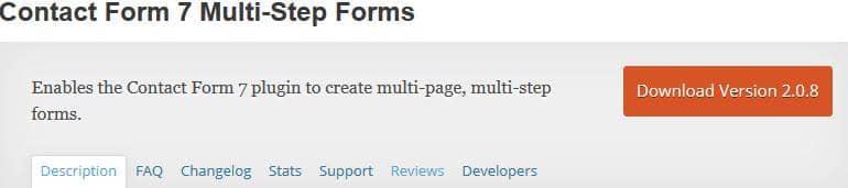 formularz contactform na stronie