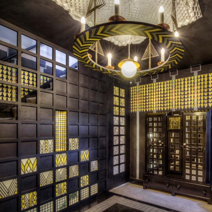 78 Derngate Charles Rennie Mackintosh designed house