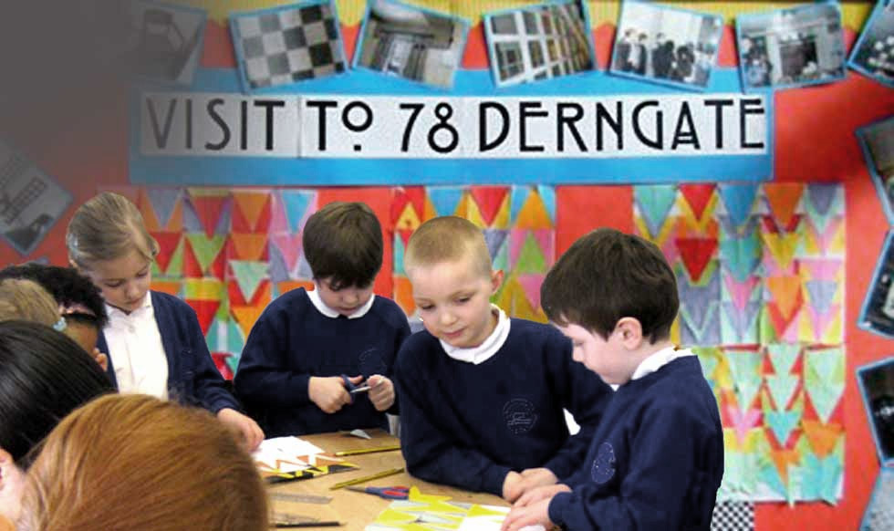 Educational visits to 78 Derngate