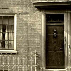 78 Derngate pictured around 1916