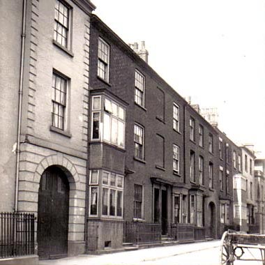 82, 80 and 78 Derngate pictured in 1916