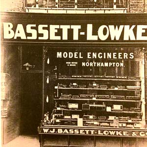 The first Bassett-Lowke London shop at 257 High Holborn