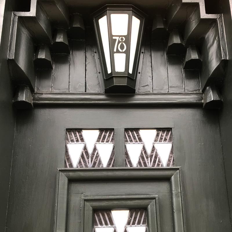 Restoration of 78 Derngate