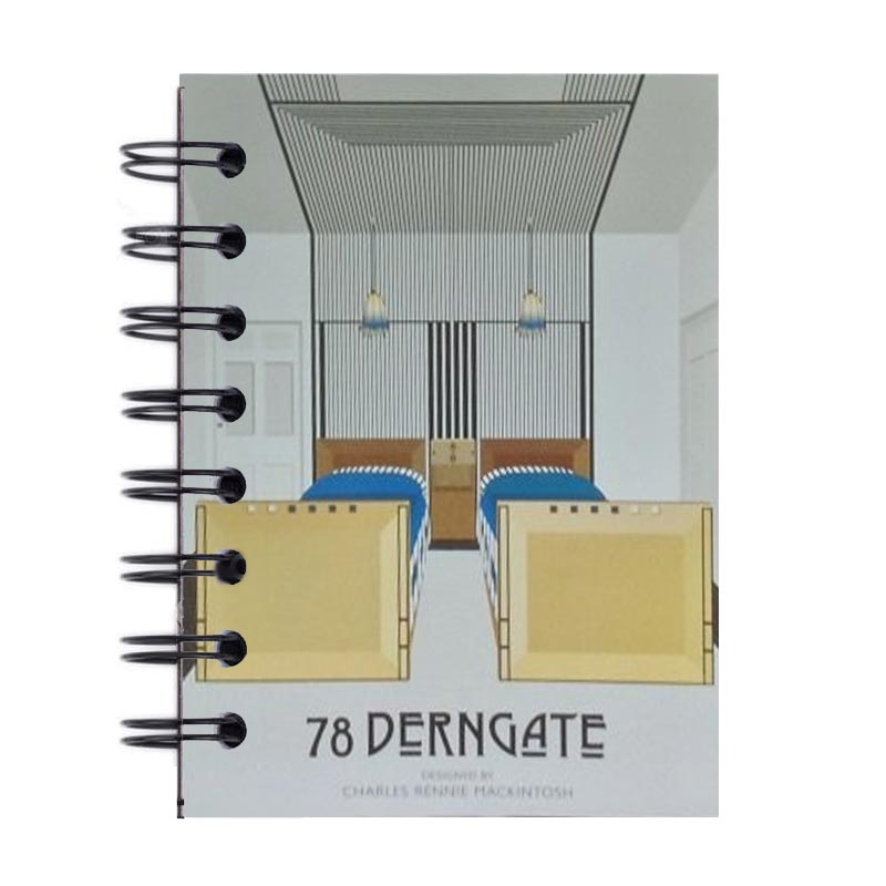 A7 Spiral Notebook - Guest Bedroom Design