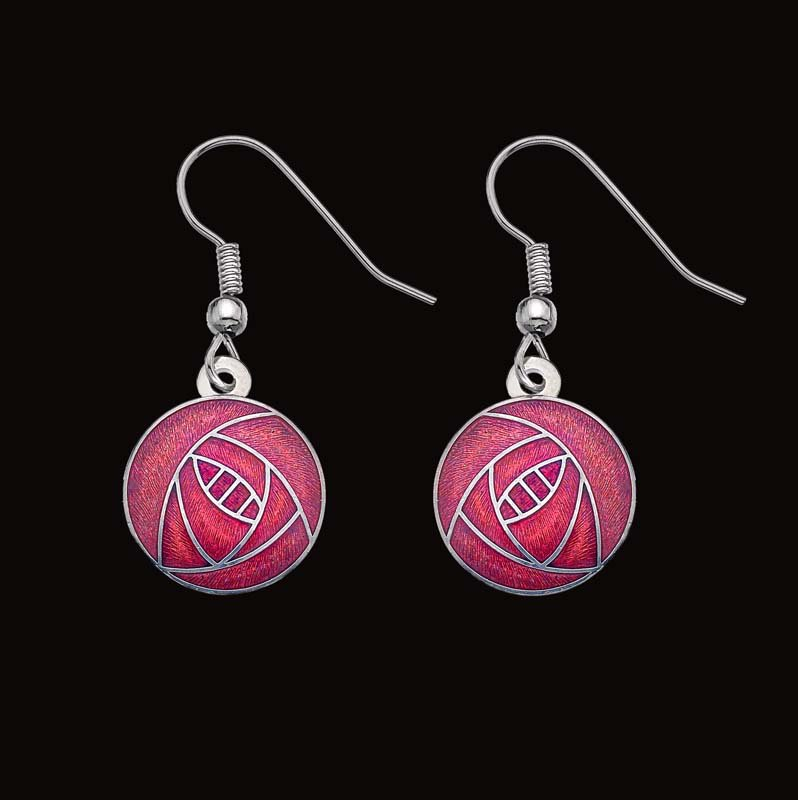 Earrings - Red Drop
