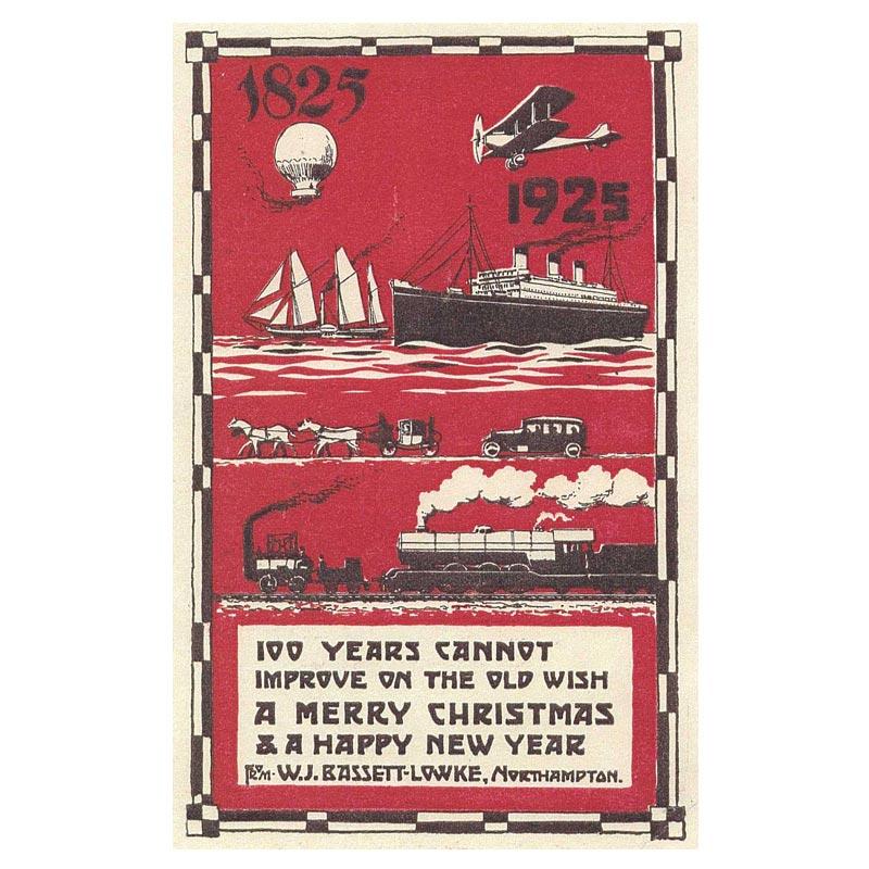 Poster - Centenary Bassett-Lowke Christmas Card