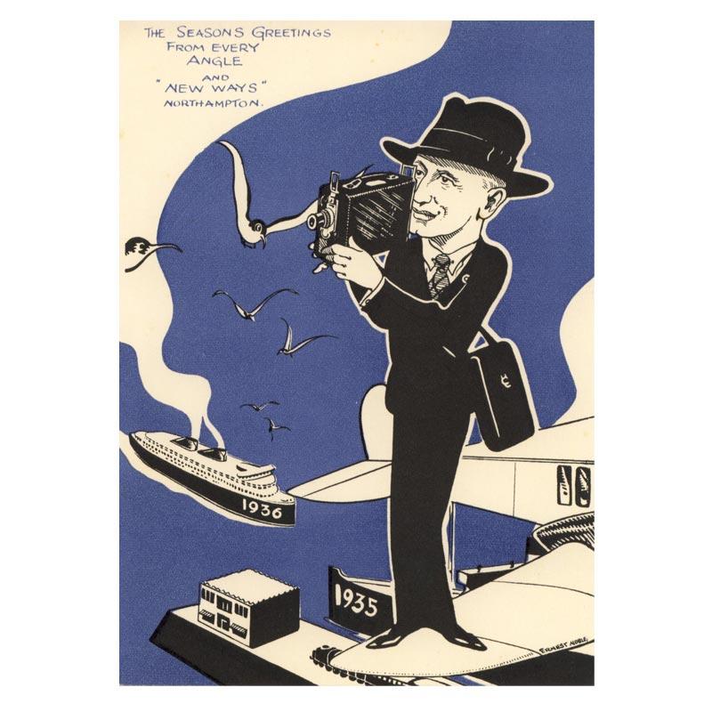 Poster - 1935 Bassett-Lowke Christmas Card