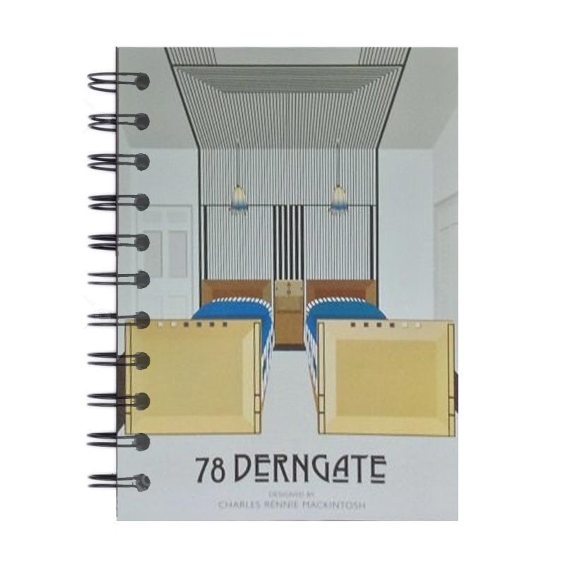 A6 Spiral Notebook - Guest Bedroom Design