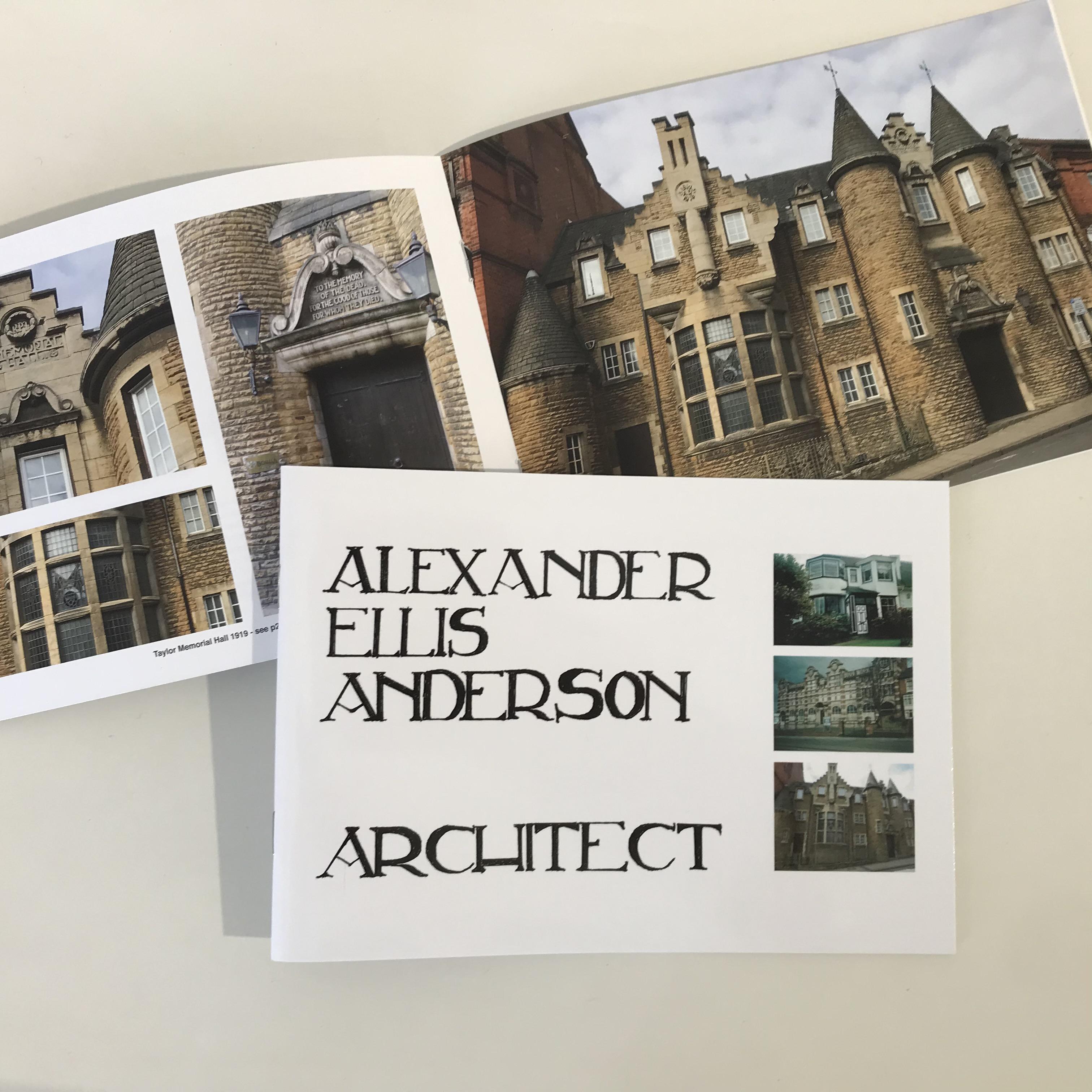 Alexander Ellis Anderson - Architect