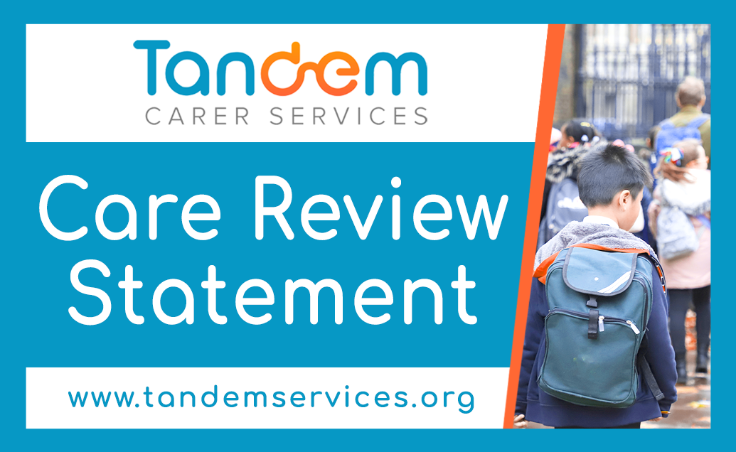 Care Review Statement