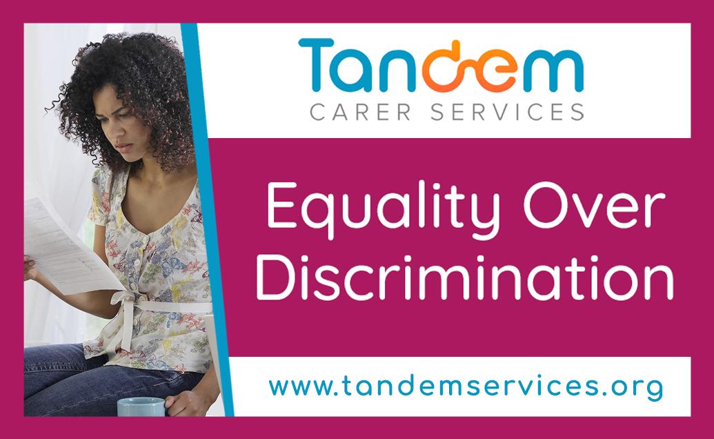 Equality over Discrimination