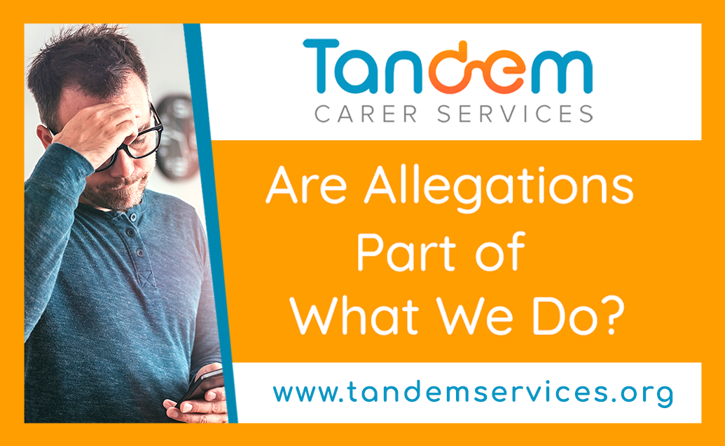 Are allegations part of what we do?