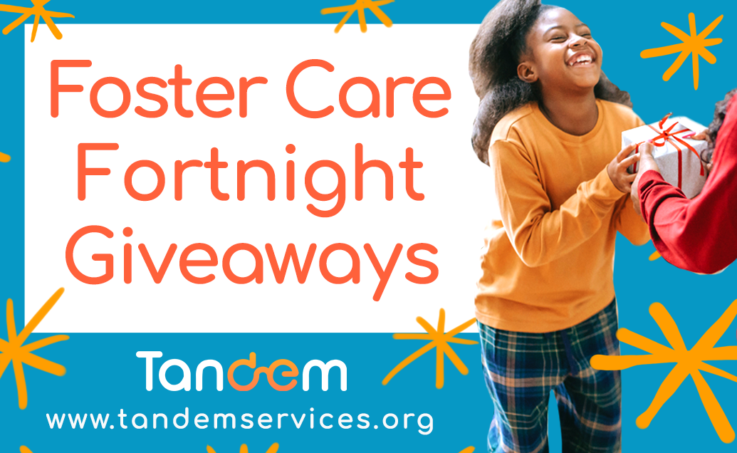 Foster Care Fortnight Giveaways