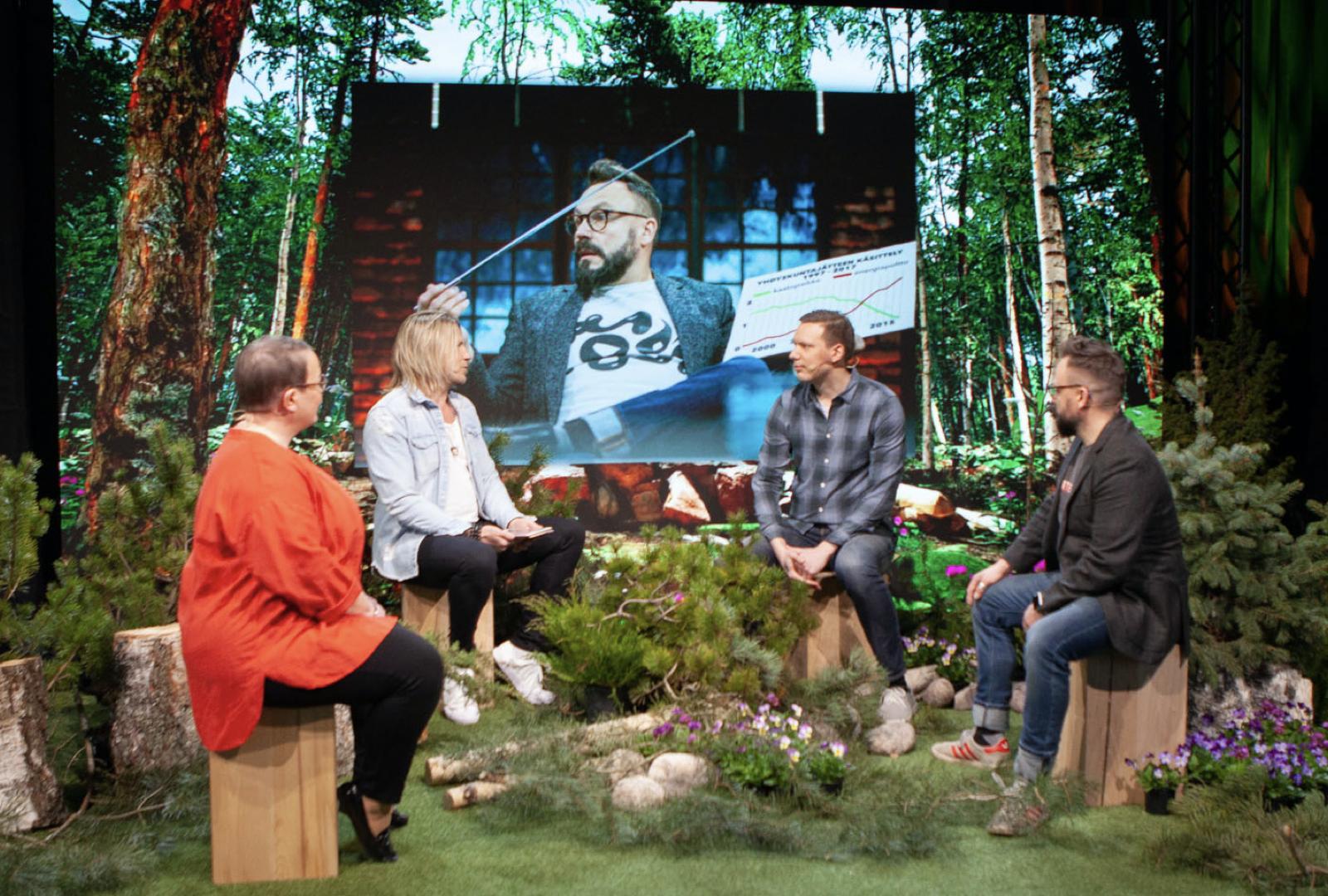 Sami Kurosen iltapäivänuotiolla käytiin inspiroivaa keskustelua alan elämän pelistä, markkinoinnin ja viihteen liitosta