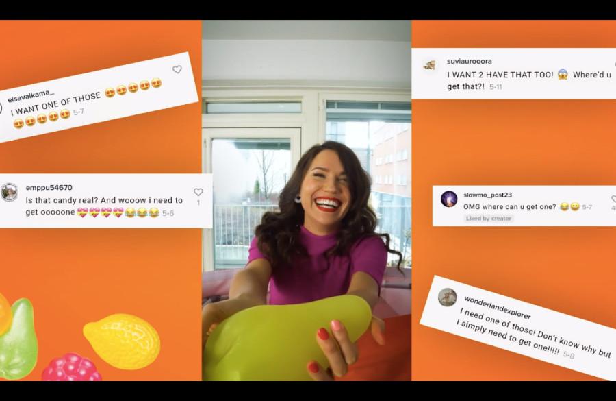 Fazer ja Kurio ottivat harkitun riskin, joka näytti suuntaa TikTok-markkinoinnille Suomessa – näin syntyi menestystä niittänyt Tutti Frutti Toolkit -kampanja