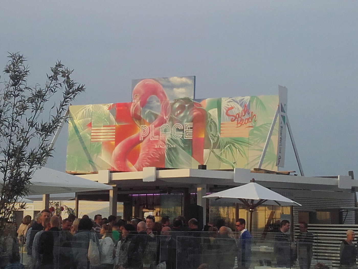 Live paint demo LaPlage Knokke-Heist