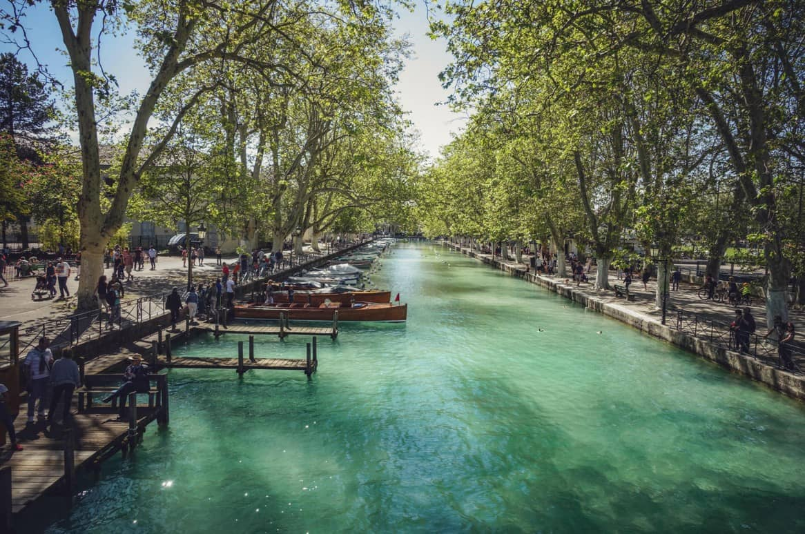 Week-end sur les bords d'Annecy