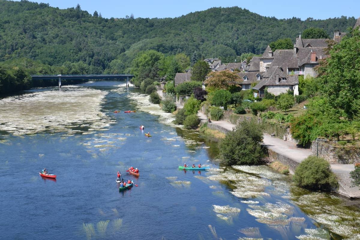 Week-end canoe à Argentat en Corrèze