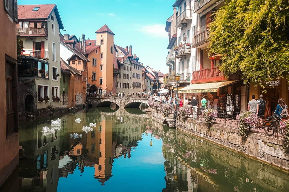 Balade dans les rues d'Annecy