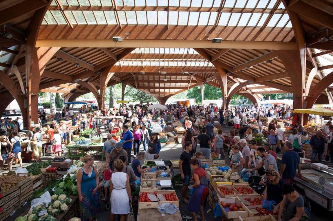 Le beau marché terroir de Brive-la-Gaillarde