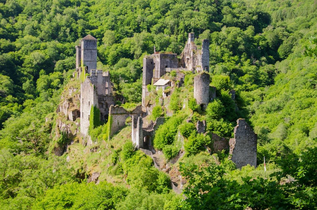 Les Tours de Merle en Corrèze