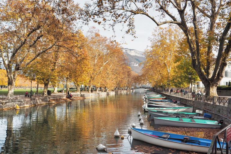 Annecy en automne
