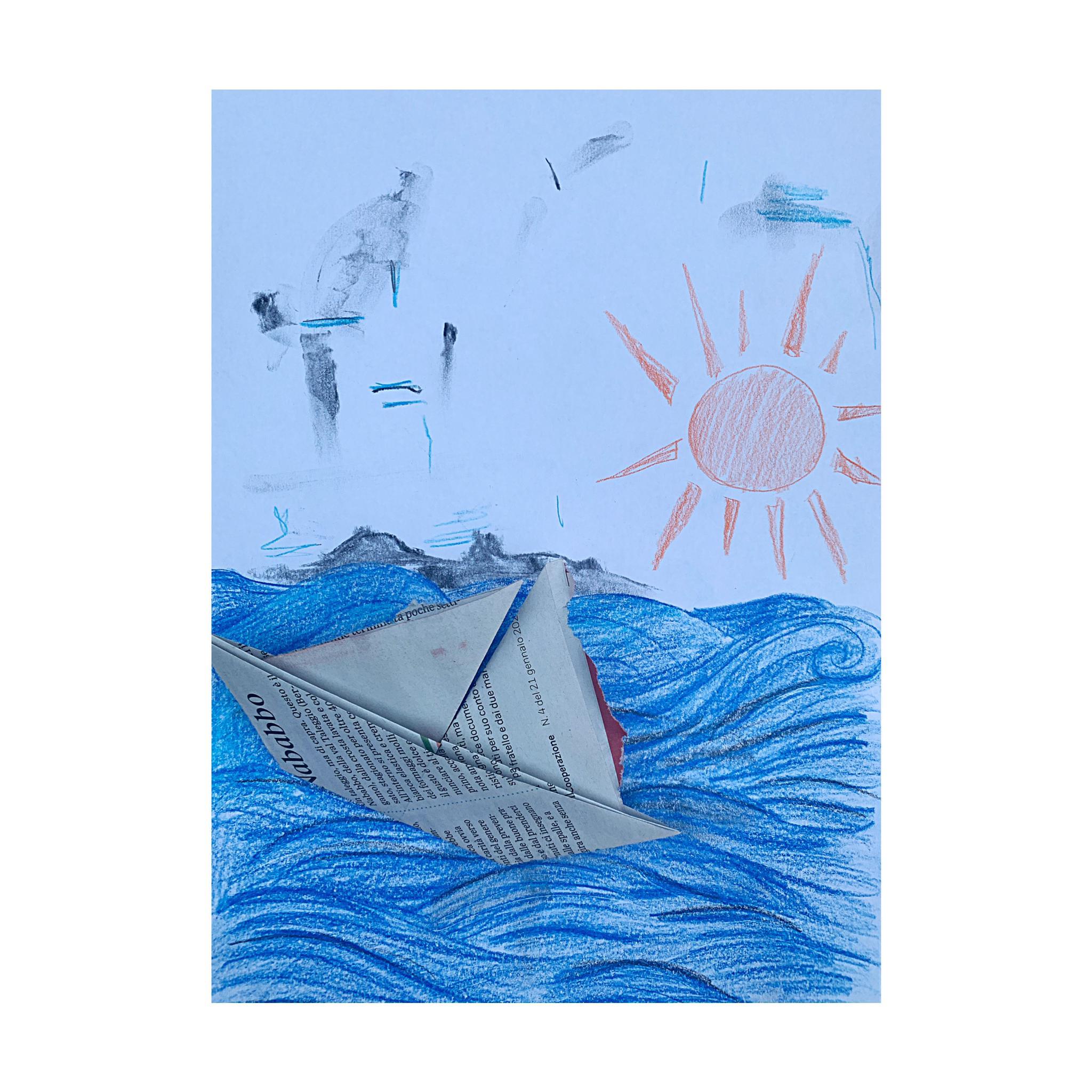 Flavio Calaon Grounding on a Boat