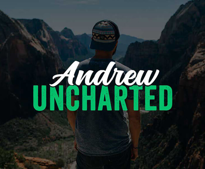 Andrew Uncharted Creative Direction Case Study Image
