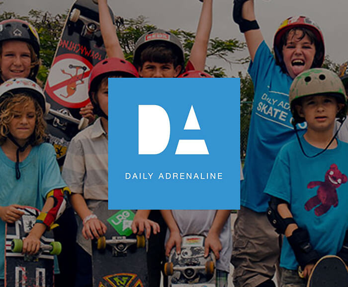 Daily Adrenaline Creative Direction Case Study Image