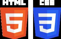 HTML5 and CSS3 Logos