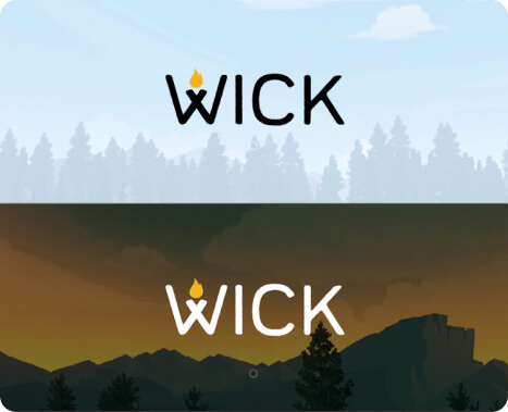 Wick's final logo design