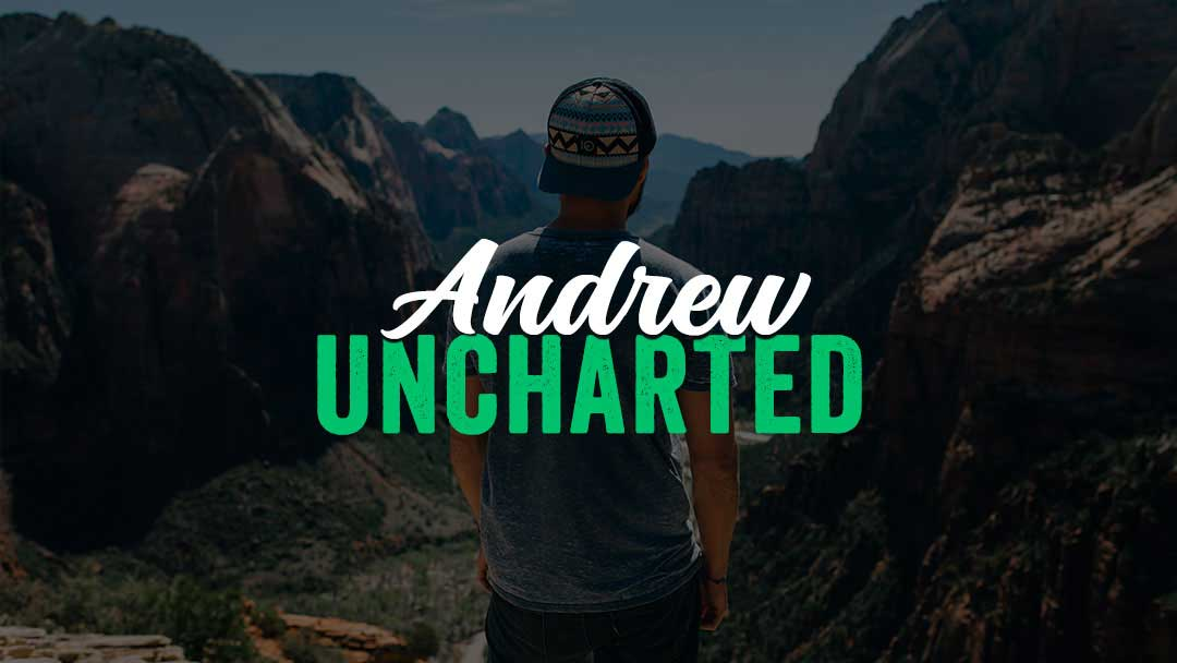 Andrew Santoro - a digital nomad company based on both remote web design work and travel-related content