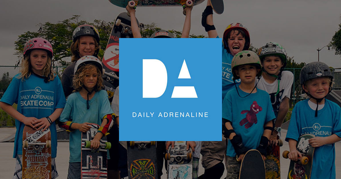 Daily Adrenaline - a nonprofit company Andrew co-founded and was a creative director for